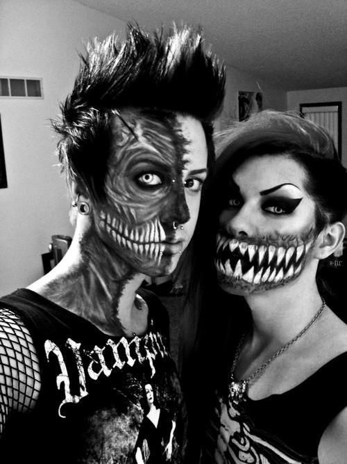 His Her Demon makeup
