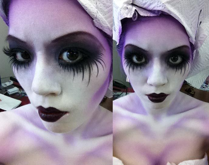 Pale Purple Ghoul Girrrrl