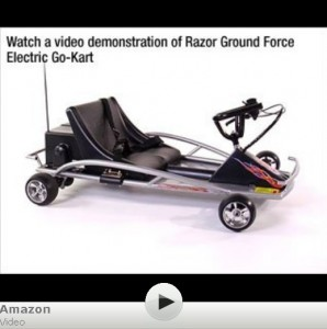 Razor Ground Force Electric Go-Kart