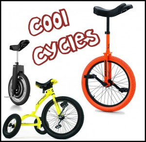 Cool Cycles - Unicycles - trick cycles - electric motocycles & more