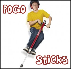 Pogo Sticks - extreme (not your father's pogo stick)