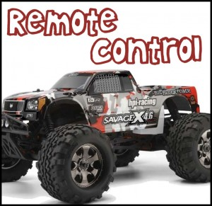 Remote Control Vehicles - gas & electric (Big Kids)