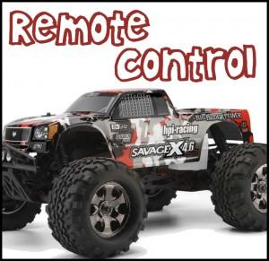 Remote Control Vehicles - gas & electric (Big Kids)