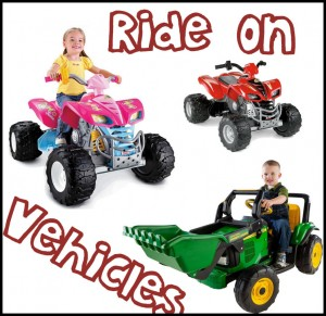 Ride on Vehicles for Younger Kids
