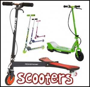 Scooters kick - electrick & trick