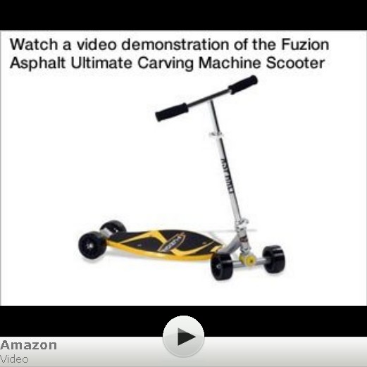 Fuzion Asphalt Ultimate Carving Machine Scooter
