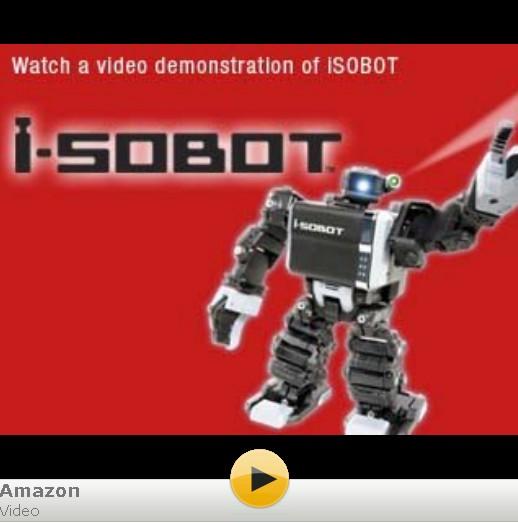 Tomy I-SOBOT Robot video
